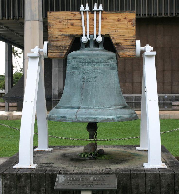 Hawaii's Liberty Bell Hawaii State Freedom Symbol