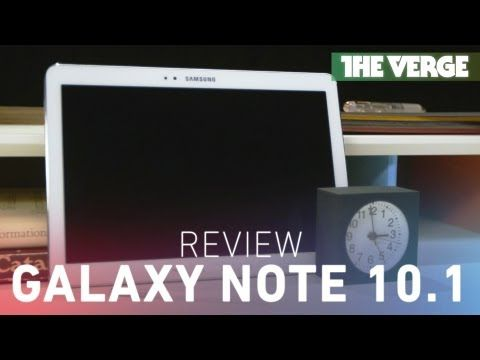 ▶ Galaxy Note 10.1 review: improved note-taking with questionable performance - YouTube