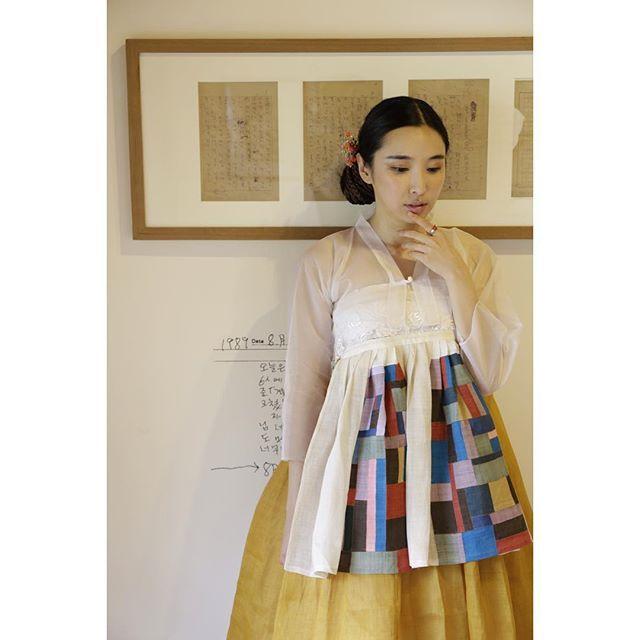 #모시치마 #조각치마 #한복 #바느질풍경 #김복희 #sewinglandscape