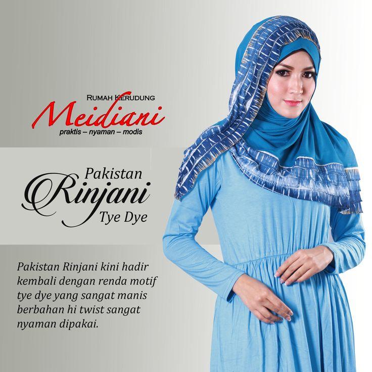 Blue is calm, blue is amazing! #pakistanRINJANI always blue in your heart! detail www.meidiani.com