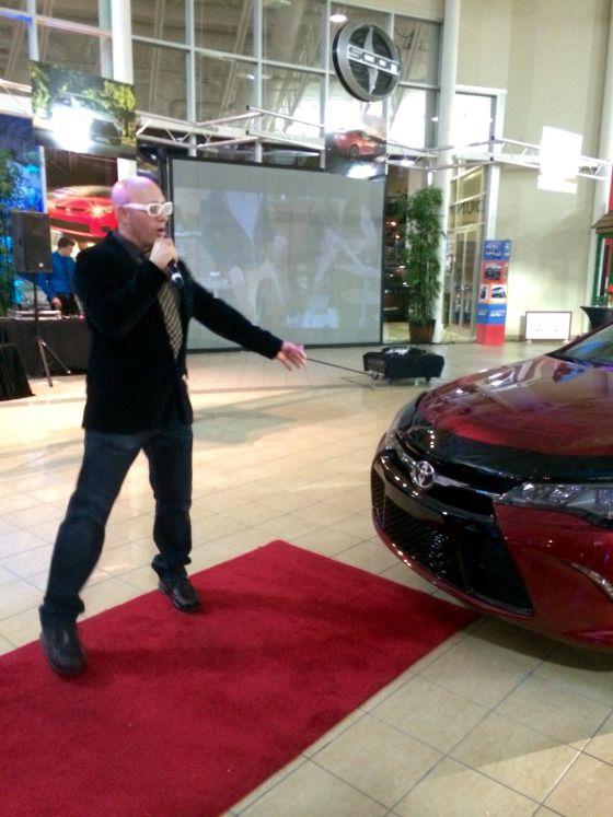 Jan G. Cerato Spokesperson for Toyota at the 2015 Camry Launch Event #brandambassador #yyc #calgary