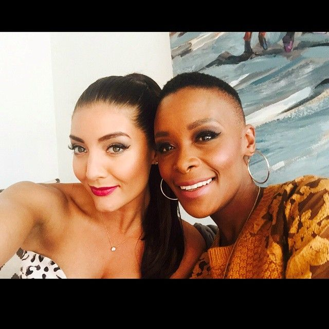 the cut and makeup on Bonnie Mbuli!!