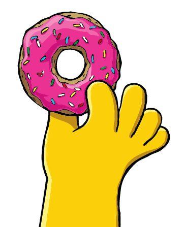 Como hacer las donas de Homero Simpson - Taringa! How to make Homer Simpson's donuts. Recipe in in Spanish.