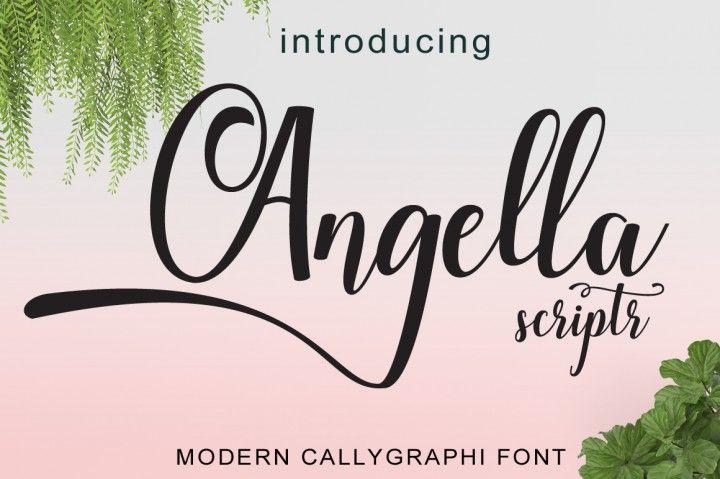 Angella script By cooldesignlab