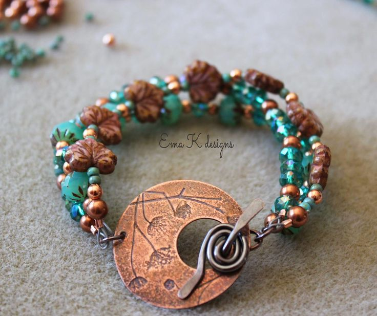 Art Bead Scene Blog: Tutorial Tuesday: A Layered Bracelet Design