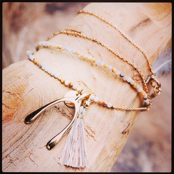 NEWONE-SHOP.COM I #wishbone #necklace
