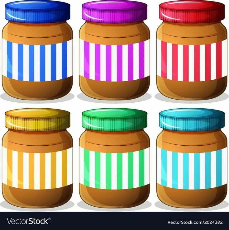 بطاقات رووووعة لتمييز الالوان مفيدة لزيادة التركيز والتواصل البصري عندما يتراوح عمر الطفل مابين 2 3 سنوات يكون قد اصبح مستعد لتعلم الالوان ولكن ليس بالضرورة Peanut Butter Jar Jar Peanut Butter