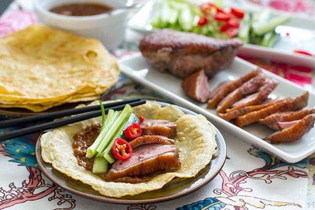 Paleo duck pancakes with homemade hoisin sauce | Eat Drink Paleo