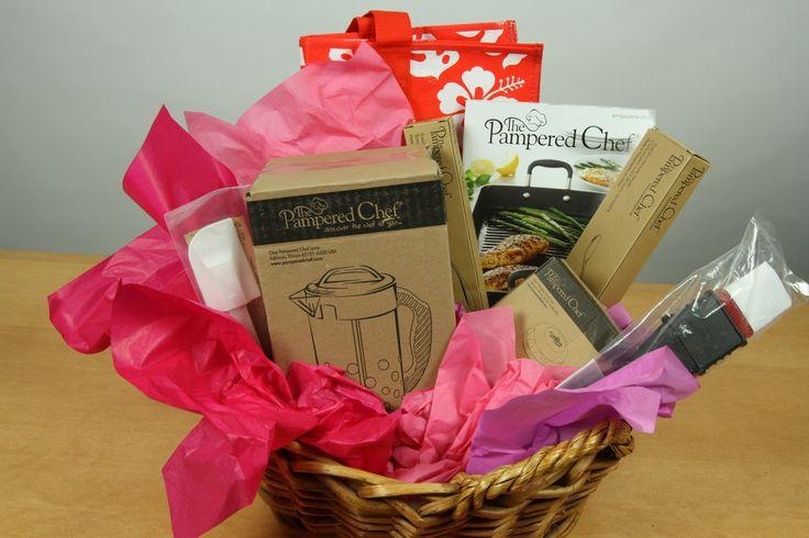 "Pampered Chef ""Summertime Picnic"" Gift Basket  Ode to Joy auction and raffle: http://simplejoysonline.net/odetojoy/odetojoyevent/ #odetojoy"