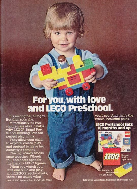 Best Lego Adverts Images On Pinterest Graphics Advertising - Clever print ads from lego show children building their own future