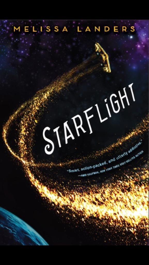 Starflight - Melissa Landers, redesign: