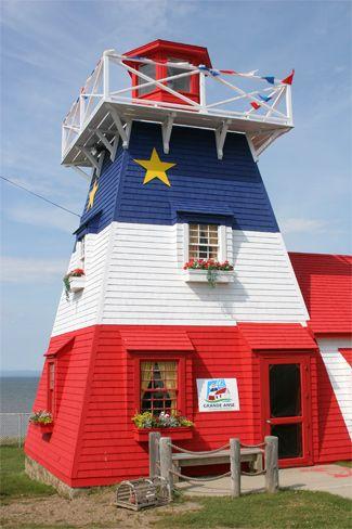 Grande Anse Lighthouse, New Brunswick Canada