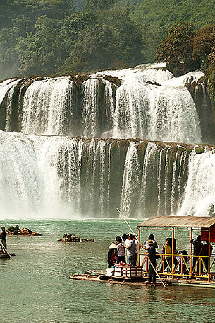 Daxin waterfall, Nanning, China. Check out 10 of the most stunning waterfalls in the world!  Click through to read the full post!