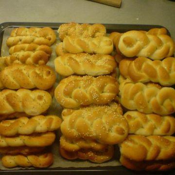 Domácí pletené houstičky - Křupavé houstičky na výbornou snídani - jako od pana pekaře