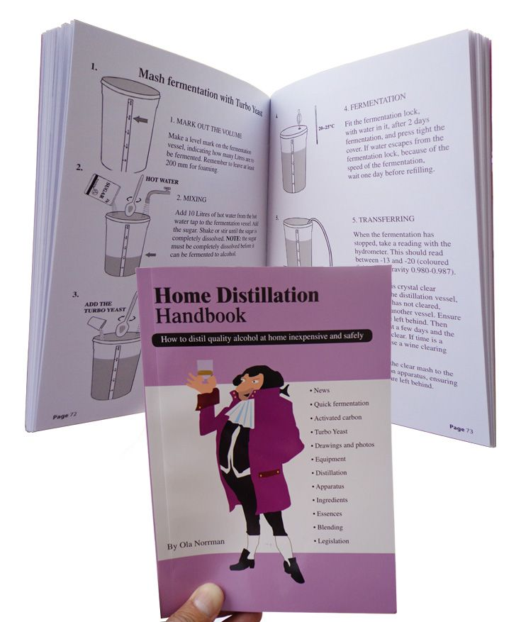 The Home Distillation Handbook, by Ola Norrman, describes how to make alcoholic spirits at home. Possibly the best book written on the subject, it describes in detail how you can make your own spirits.