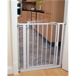 The Bettacare Narrow Auto Close Baby Safety Gate Narrow Width will fit the smaller doorway openings between 68.5cm & 75.5cm. www.babysecurity.co.uk/bettacare-narrow-stair-gate-68-5-75-5cm-ext-to-155cm.html