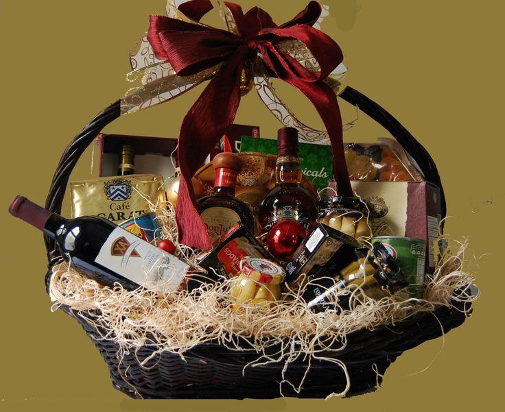 Canastas navideñas Gourmet