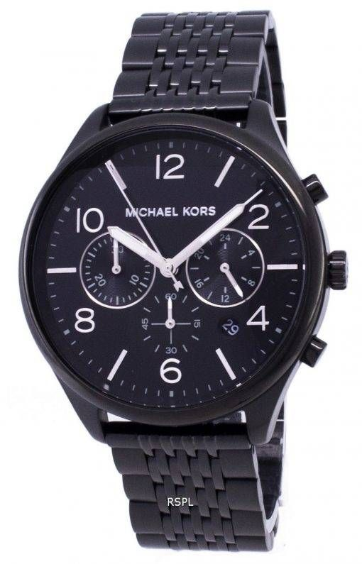894d2a3c6 Features: Stainless Steel Case Stainless Steel Bracelet Quartz Movement  Mineral Crystal Black Dial Analog Display