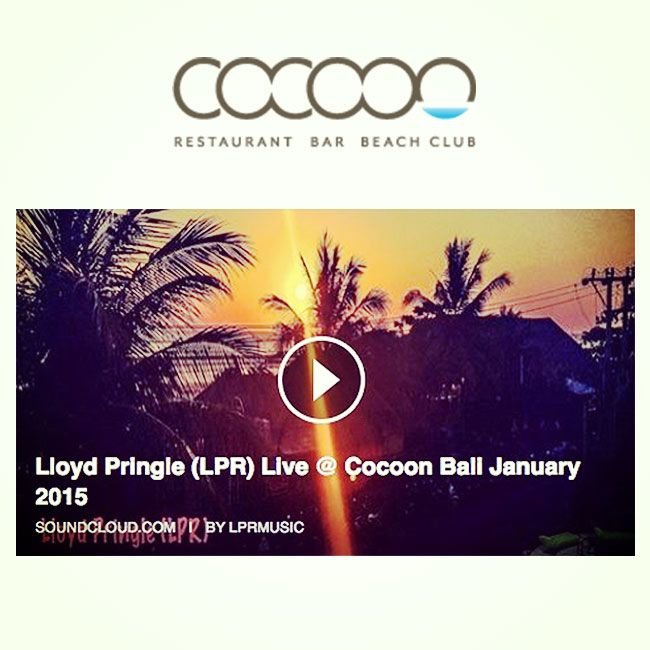 Great new mix recorded poolside at Cocoon !! Head down for 2 for 1 cocktails today between 4pm - 7pm #bali #sunset https://soundcloud.com/…/lloyd-pringle-lpr-live-cocoon-bali…