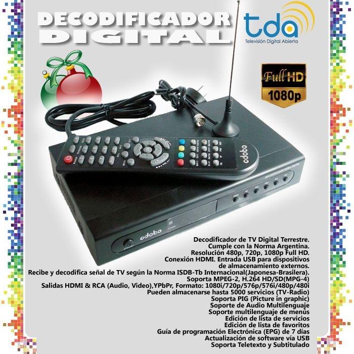 Decodificador Digital TDT