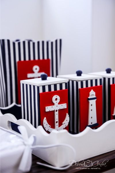 kit higiene tema náutico  baby room  boy nautic navy