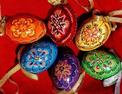 So gorgeous! Ukrainian Christmas Egg Ornaments. Made by human trafficking survivors. $10