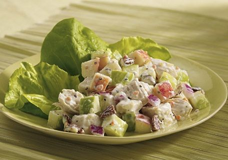 3. Chicken and Apple Salad Low Sodium Recipe... - 7 Extremely Delicious Low Sodium Recipes...   All Women Stalk