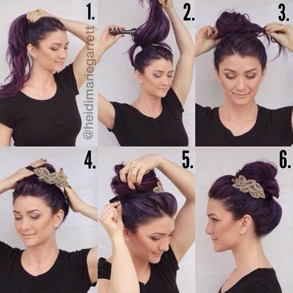 16 tutos coiffures avec un headband