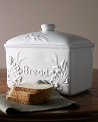 Just read that ceramic bread boxes were the best way to keep bread...