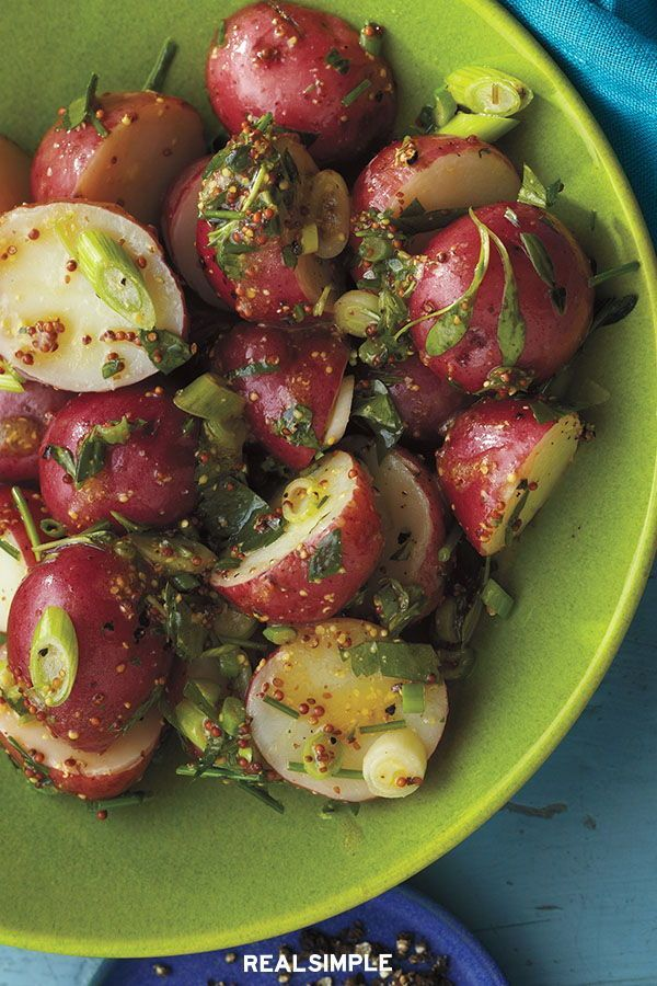 Potato Salad With Parsley And Chives Recipe
