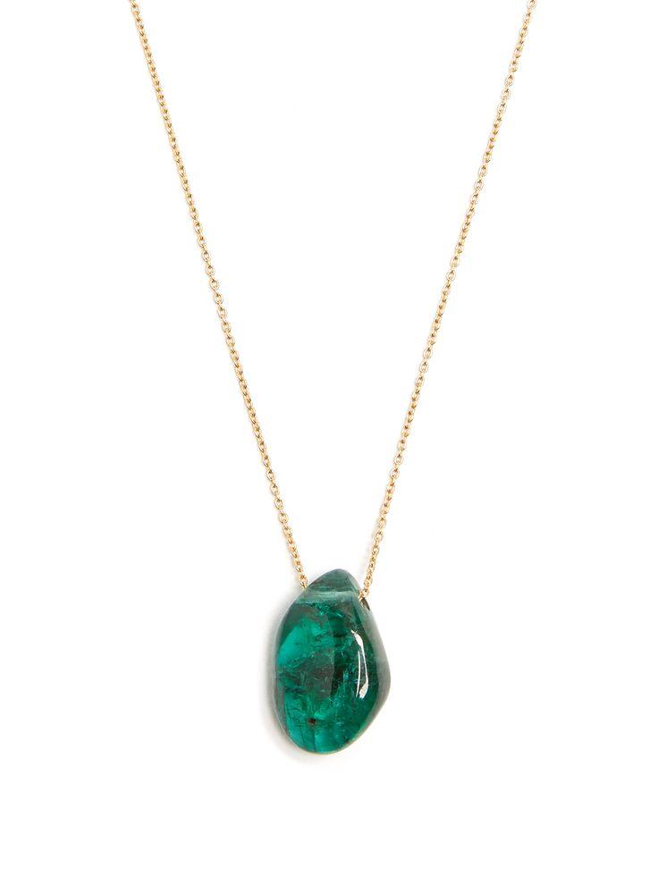 Emerald & yellow-gold necklace | Jade Jagger | MATCHESFASHION.COM AU