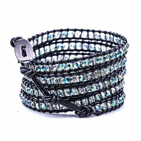 Green Hint Victoria Emerson bracelets
