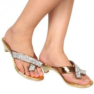 Sepatu Sandal Nayya Emas IDR320.000 SKU Ninetynine 8597 Size 36-40 heels 0 cm_flats-sandal-embellished