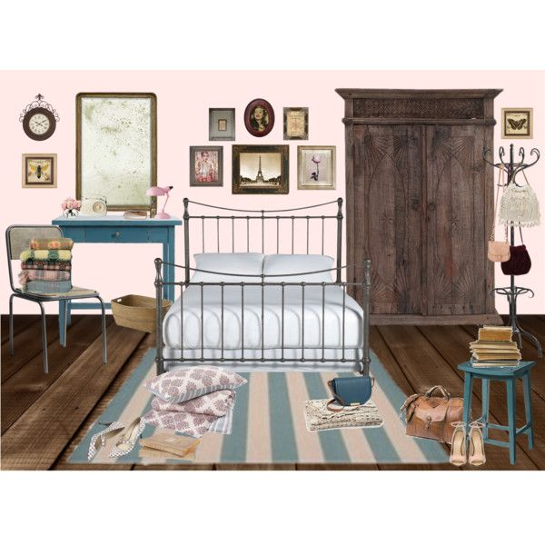 ma chambre by chrylou on Polyvore featuring interior, interiors, interior design, home, home decor, interior decorating, Ethan Allen, Pier 1 Imports, John Robshaw and Uttermost