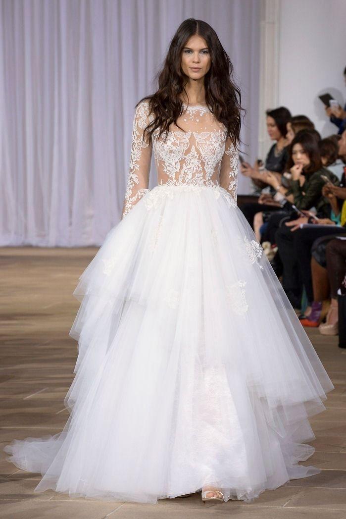 Robe de mariée Ines Di Santo Couture : Les plus belles robes de mariée de créateurs - Journal des Femmes