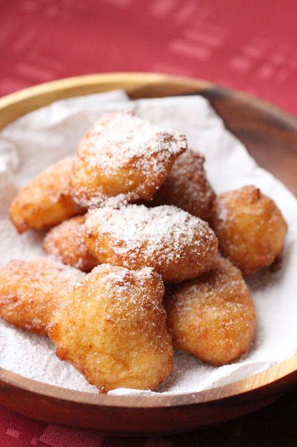 Calas : beignets de riz de la Nouvelle-Orléans. New-Orleans rice sweet friters