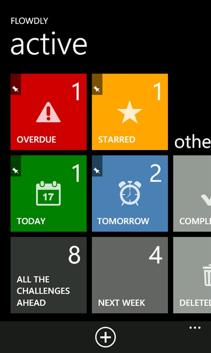 Windows phone UI