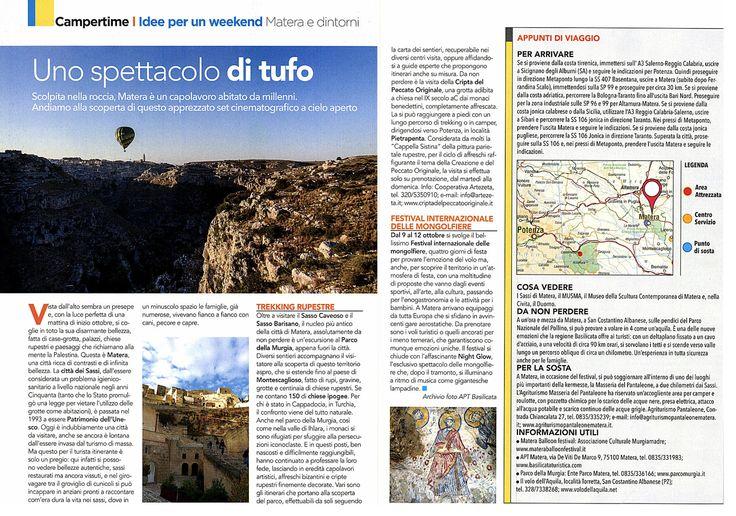 #Matera, un capolavoro abitato da millenni