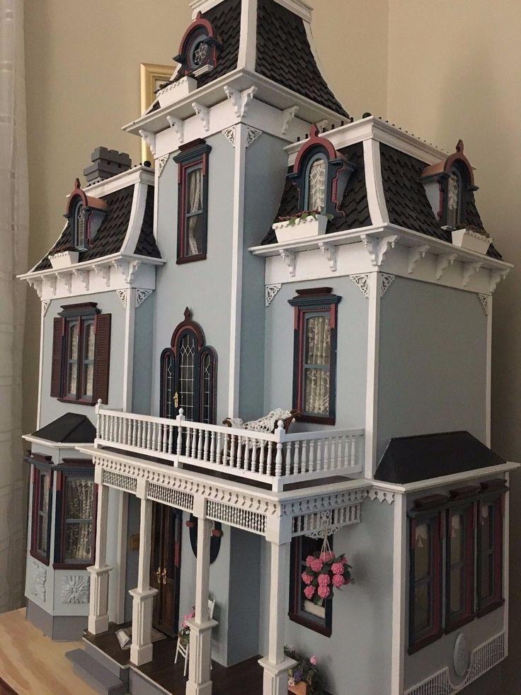 Mejores 1782 imágenes de Casitas Miniatura. Dollhouses. en Pinterest ...