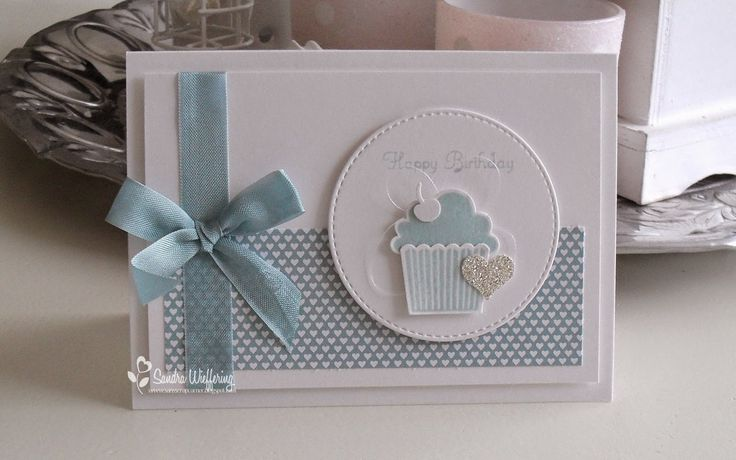 Made by Sandra - SU - Cupcake Builder Punch,  Create a Cupcake stamp set - Birthday