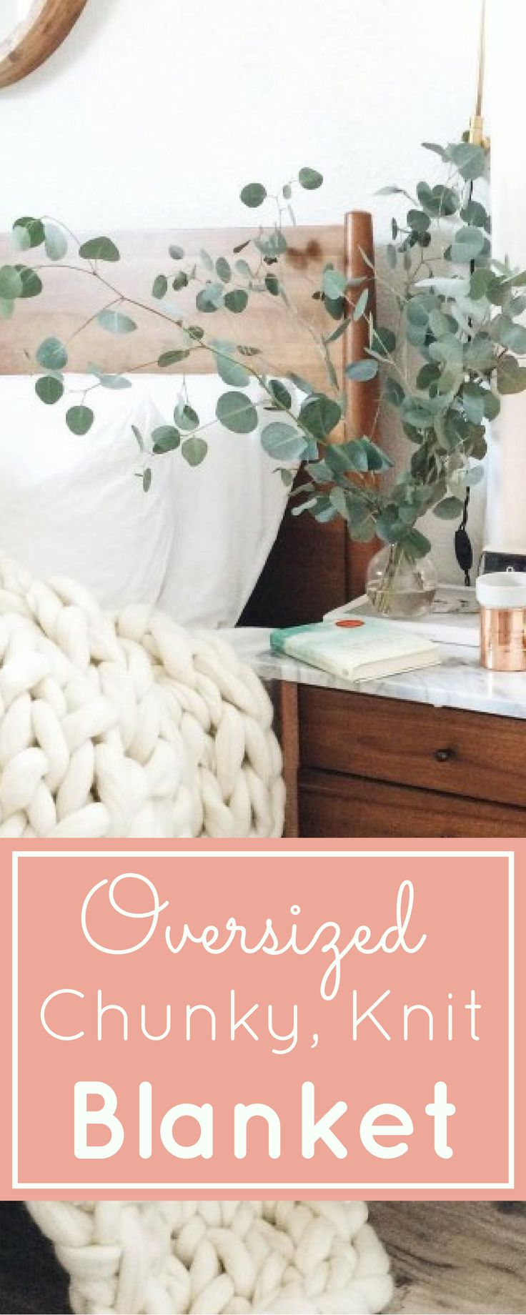 The Giant Oversized Chunky Knit Throw Blanket - Find out where to buy one (or make your own!) Click through for the details.   glitterinc.com   @glitterinc