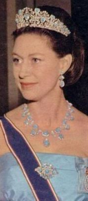 Lady Sarah Chatto (Margaret's daughter) and the Countess of Swowden (Margaret's daughter-in-law) do not seem to have the jewels or tiara and they were not ...