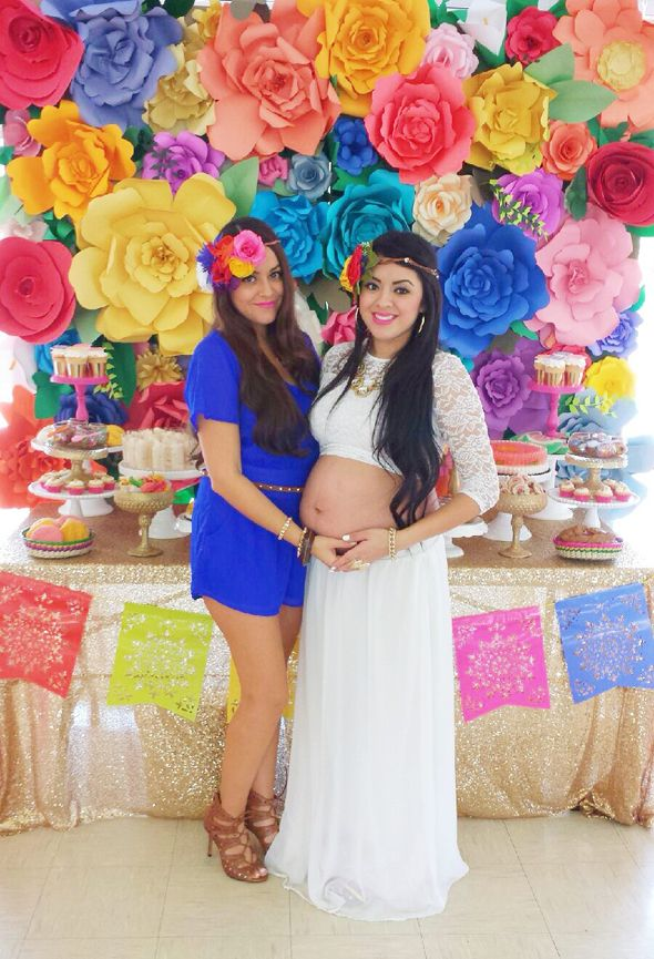 Traditional Mexican Birthday Party | My Sisters Colorful Mexican Inspired Baby Shower!