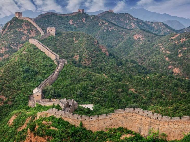 Великая Китайская стена. Сравнение фотографий   Самые свежие новости - Информационный портал Крамола