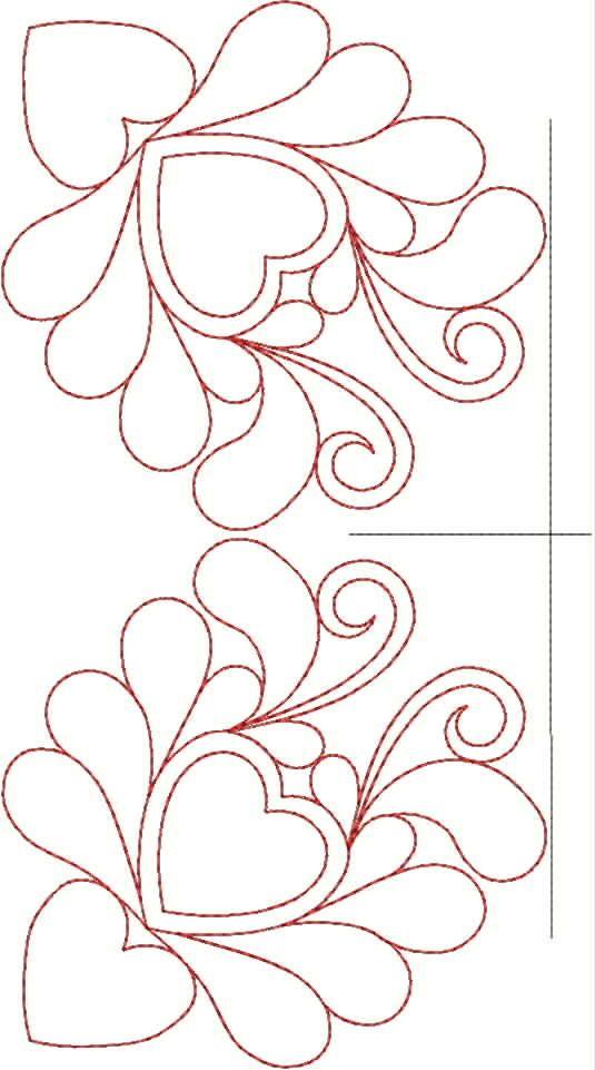 machine quilting patterns | Original Embroidery Machine Quilting Designs