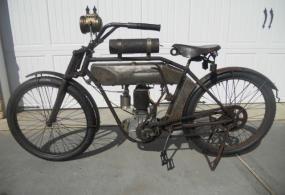 antique vintage motorcycle 3 speed gearbox