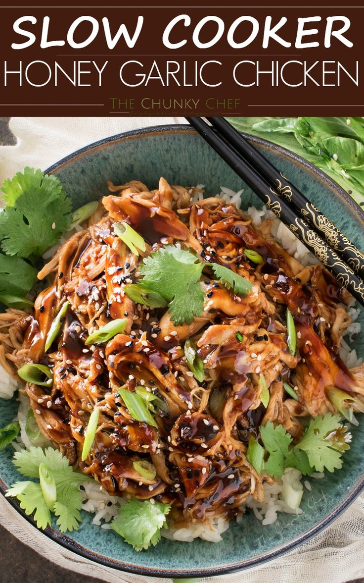 Slow Cooker Honey Garlic Chicken | Recipe | Homemade, The o'jays and ...