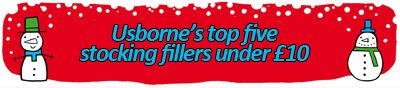 http://usbornepublishing.tumblr.com/post/102439433165/usbornes-top-five-stocking-fillers-under-10-for-boys  Usborne's gift guide to the best stocking fillers under £10  #gift #guide #presents #Christmas #Christmas2014 #festive #giftguide #stockingfillers #stocking #£10 #bargain #children #books #Usborne