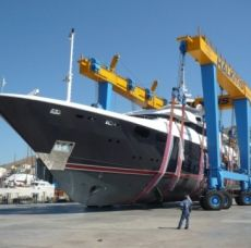 Mobile Boat Hoist, Mobile Boat Hauler