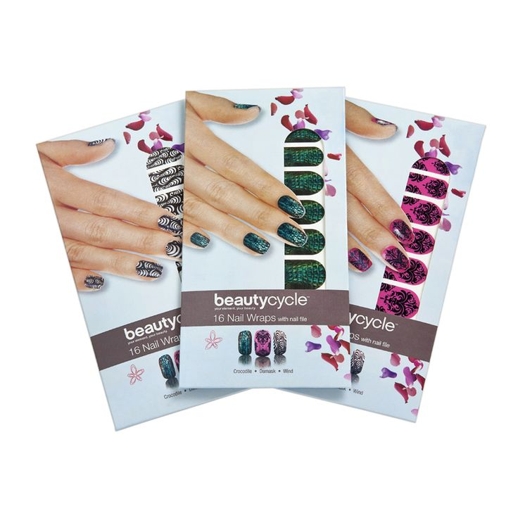 beautycycle™ Nail Wraps with nail file | Amway